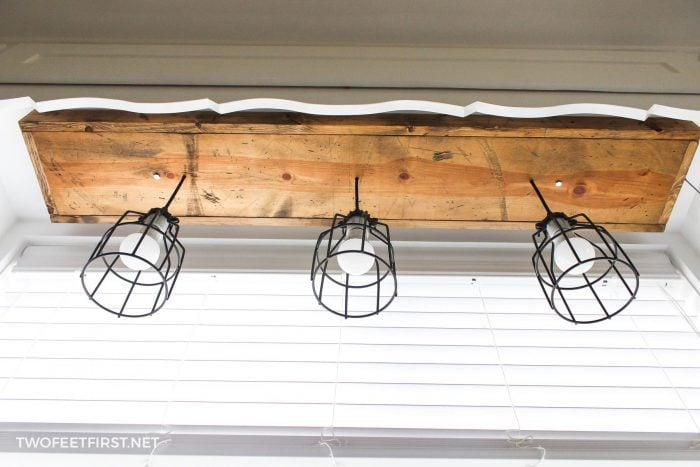 pendant cage light for kitchen