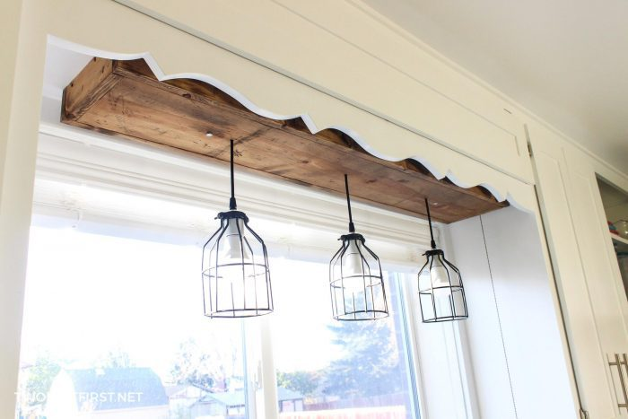 pendant lights above sink