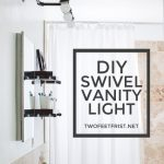 DIY Vanity Light