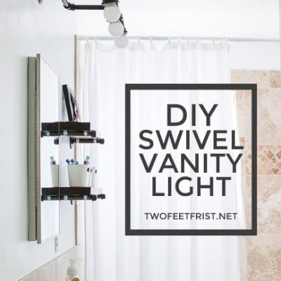 DIY Vanity Light