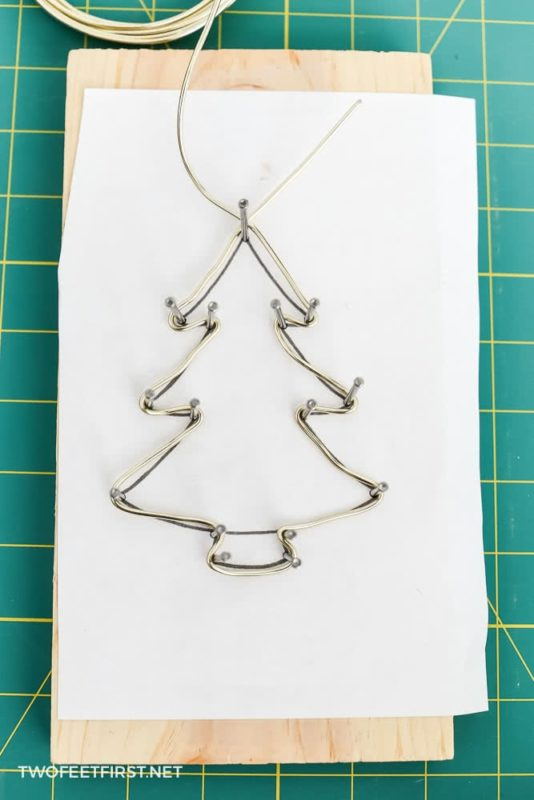 wire ornament template