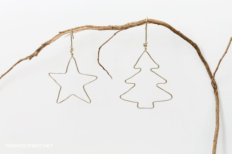 How to make wire ornaments | DIY tutorial