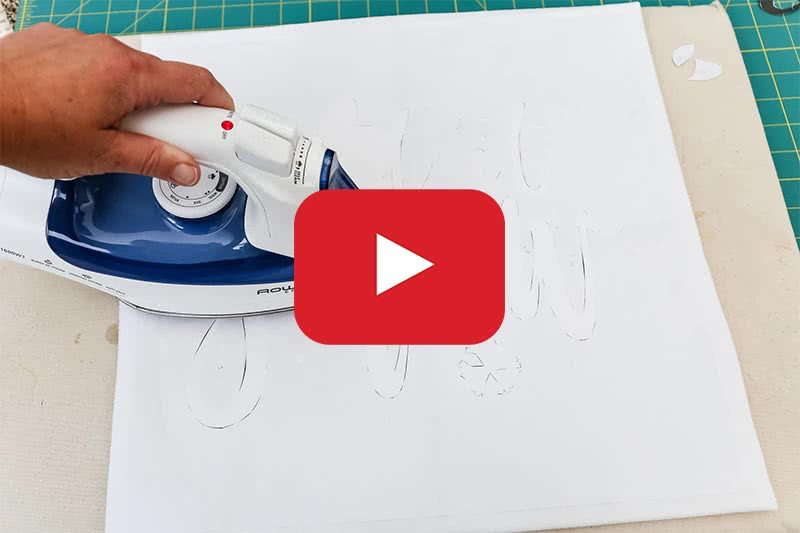 Freezer Paper Stencil Youtube Image Link
