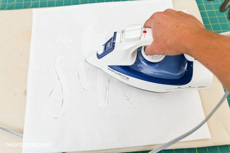 How to make a freezer paper stencil