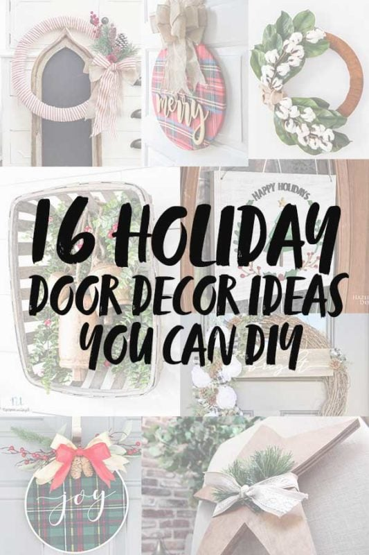 16 Holiday door decor ideas you can DIY