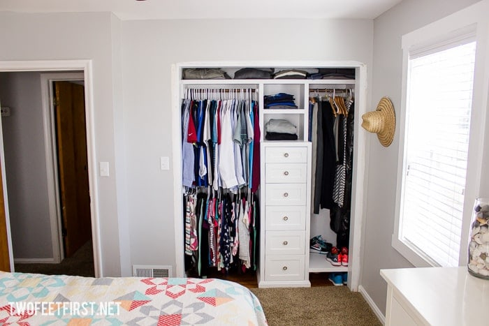 If You Hened To Miss A Step Or Want Build The Closet System Here Are Steps
