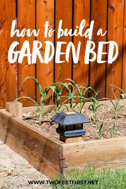 how to build a garden bed
