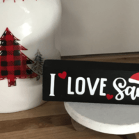 How to Make Small Wooden Christmas Signs