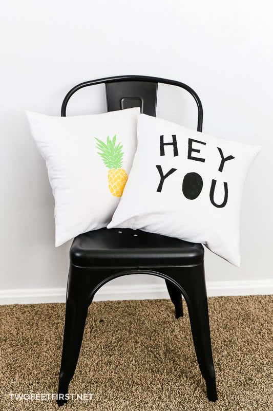 Hey You pillow cover