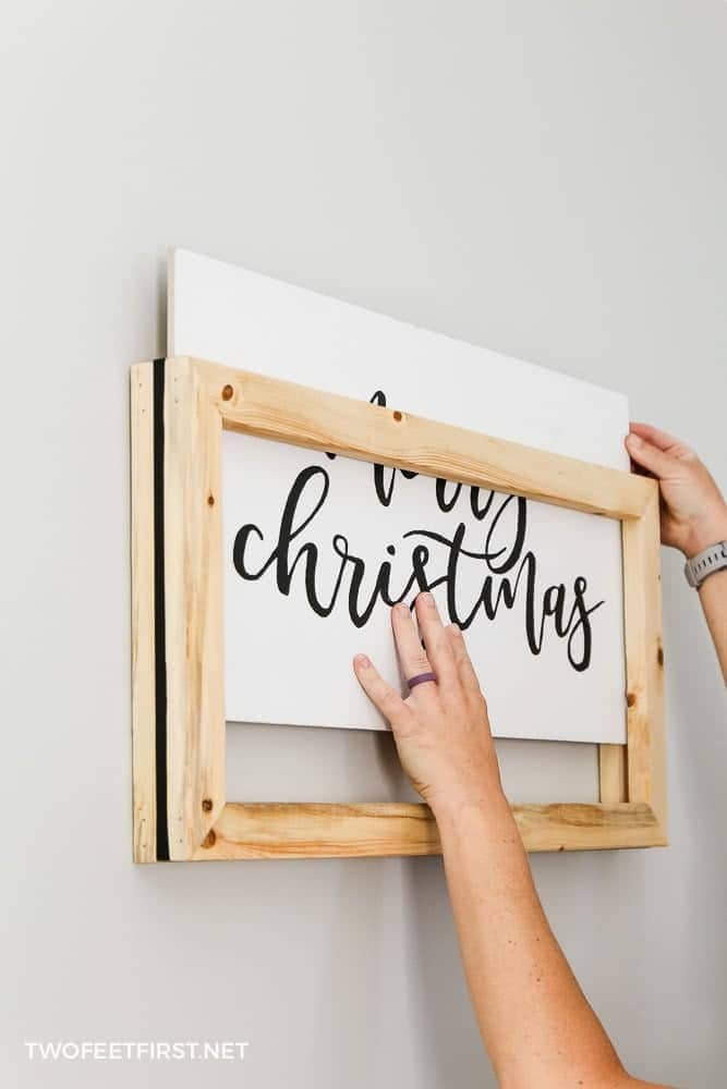 Easy Change Frame for Wood Signs