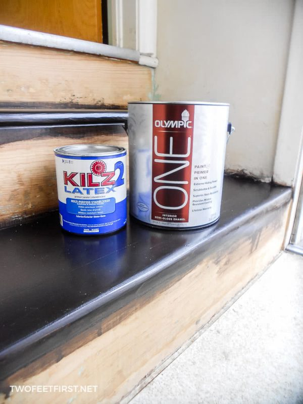 paint and primer for stair risers