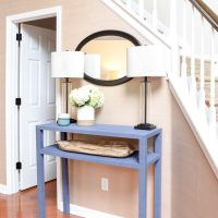 Serena & Lily Inspired Console Table: Build It Cheaper Than You Can Buy It