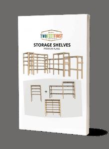 ebook on storage shelves plans