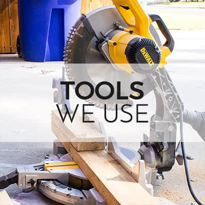 Tools used by TwoFeetFirst