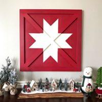 Wooden DIY Barn Star Art – Pottery Barn Knock Off
