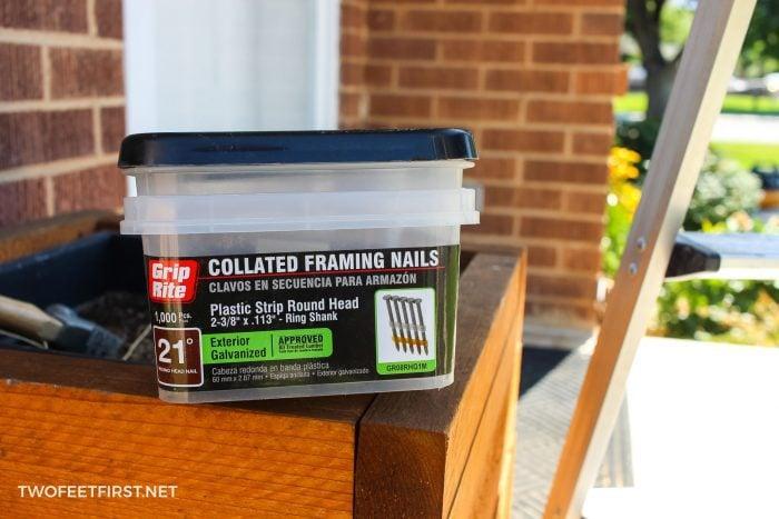 exterior nails for trim