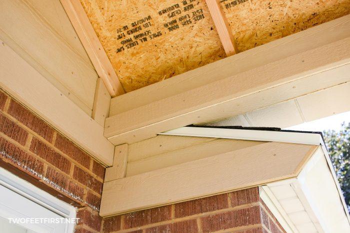 adding trim to porch design