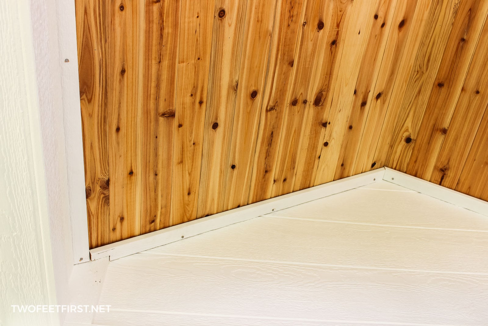 create cedar porch ceiling