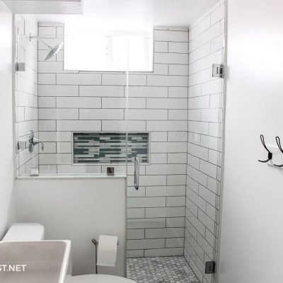 downstairs bathroom makeover