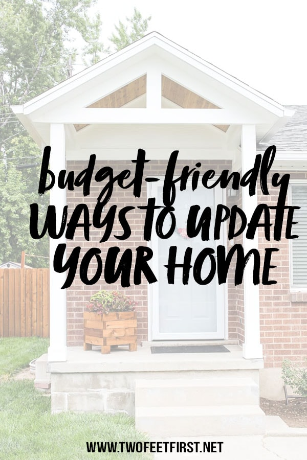 6 Budget-Friendly Ways to upgrade your home