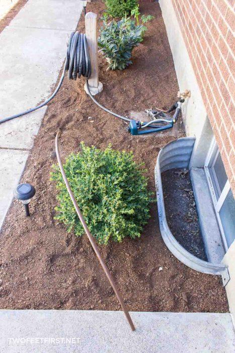 extending drip irrigation system