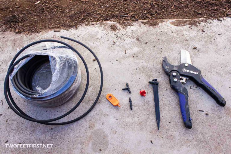 Materials for a Drip Irrigation System