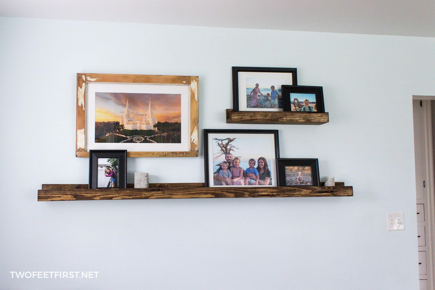 custom picture shelf