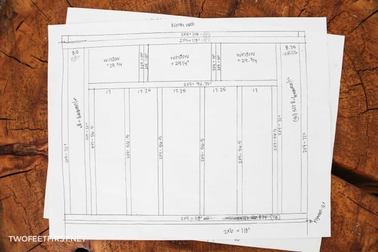 Lean to Shed Plans | DIY shed building plans
