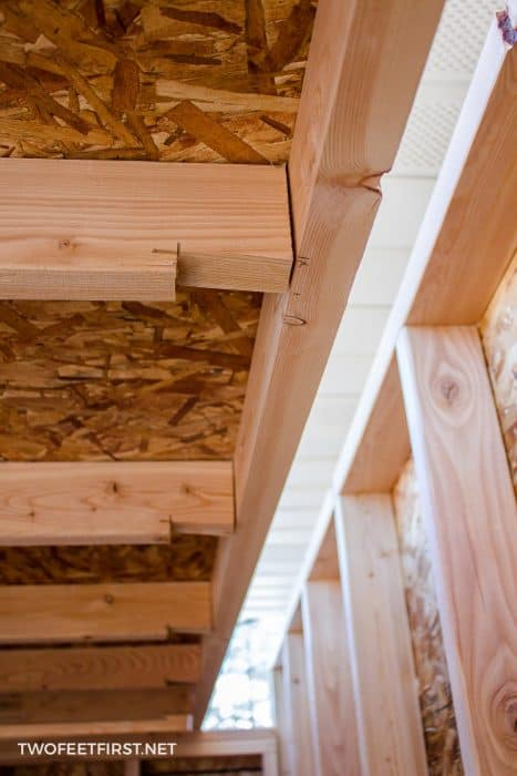 build lean-to roof for shed