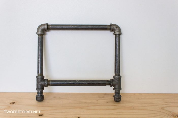 pipe frame for shoe rack