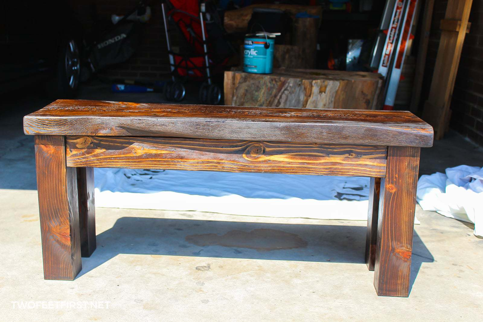 Marvelous Diy Wood Bench Dailytribune Chair Design For Home Dailytribuneorg