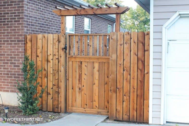 How to Build a Gate Pergola