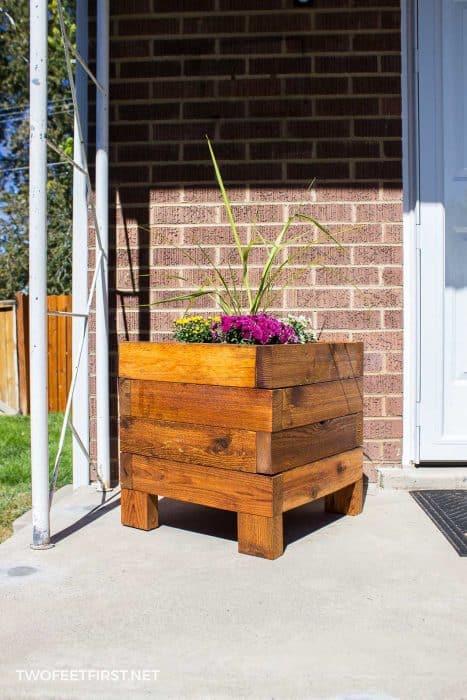 Build A Square Planter Box