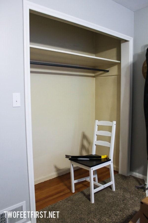 DIY Closet Organizer Plans: How to build a closet system