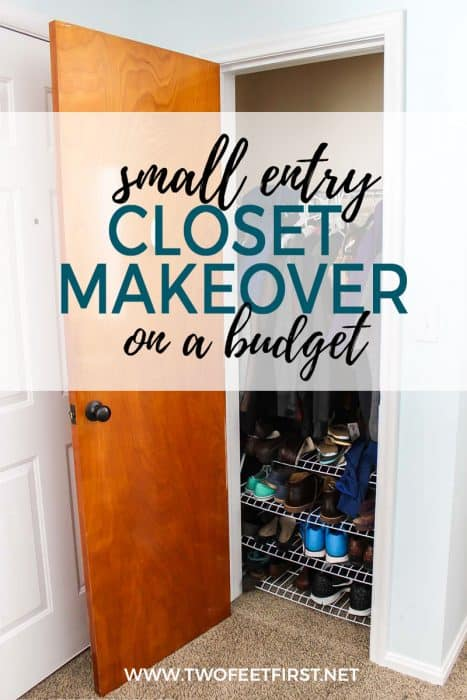 small entry closet makeover