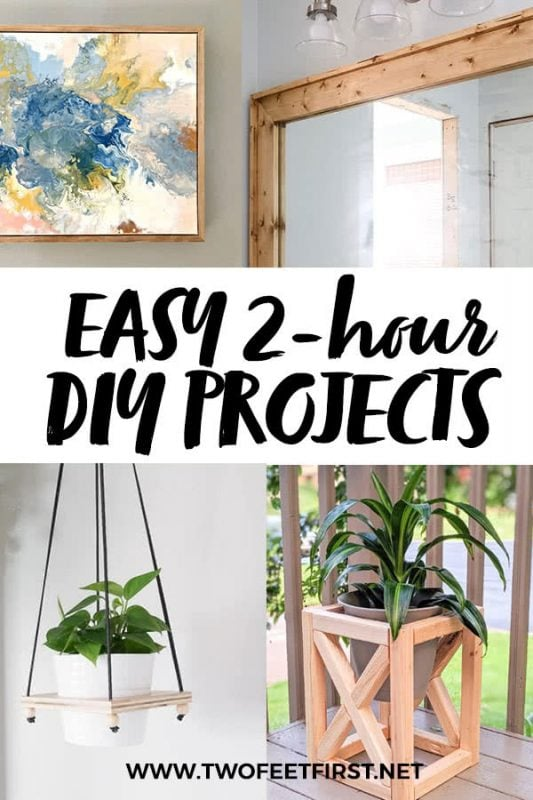 2-hour diy projects