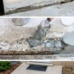 fix concrete steps