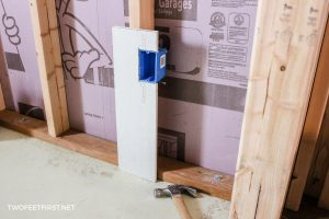 easy way to install outlet box