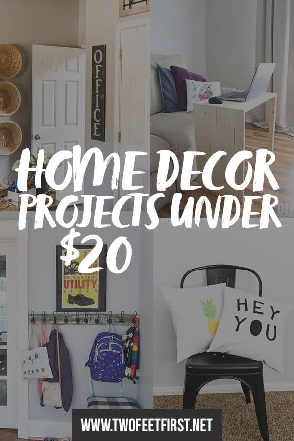 11 Home Decor Projects under $20