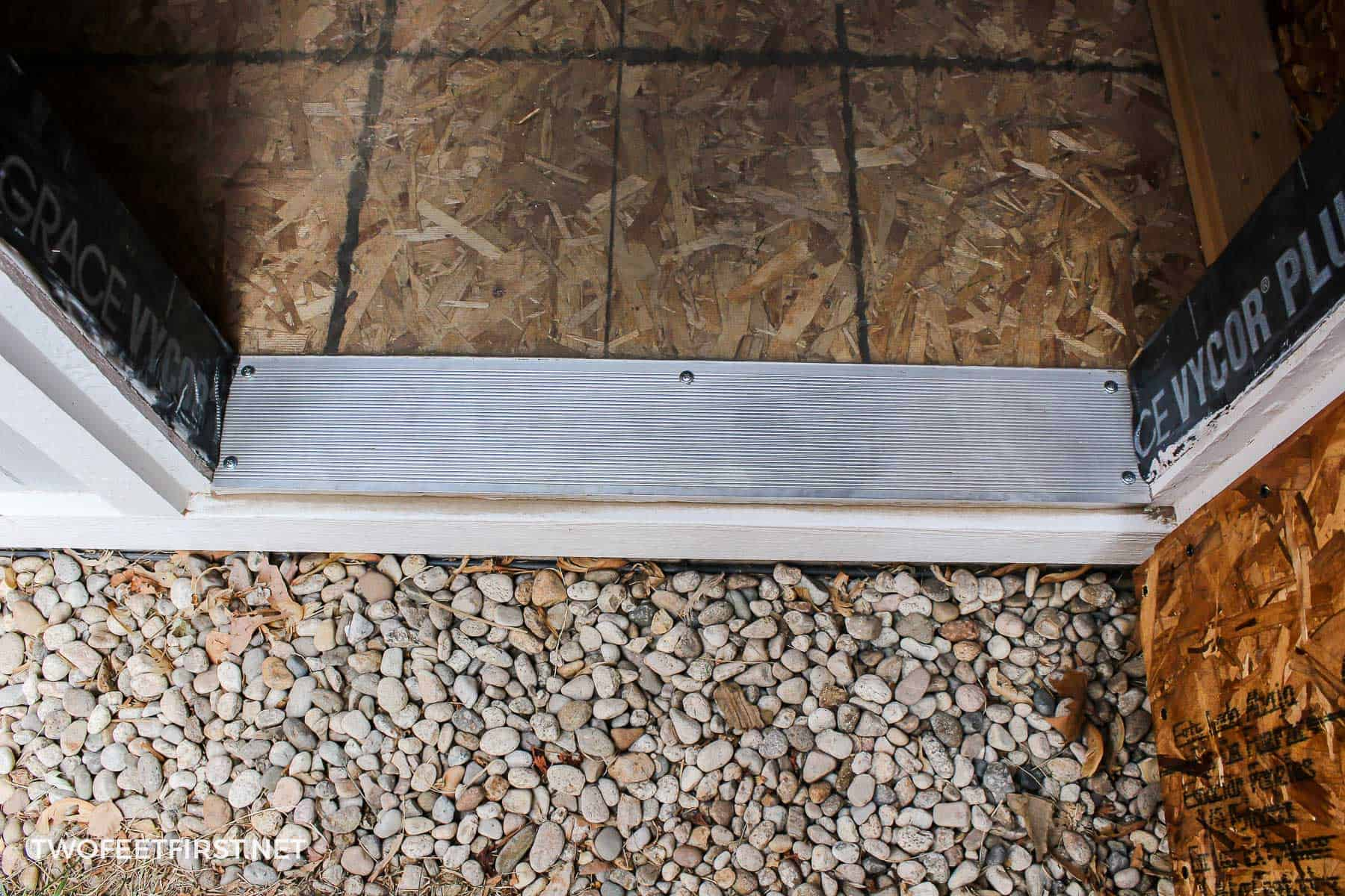 install sill plate for shed