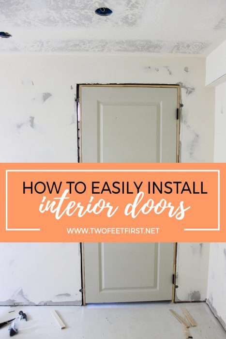how to easily install interior doors