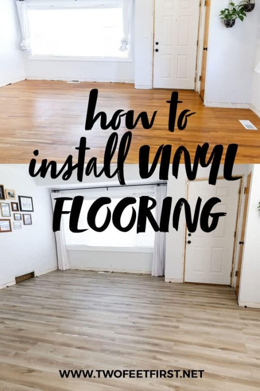 how to install vinyl plank flooring from wood to LVP