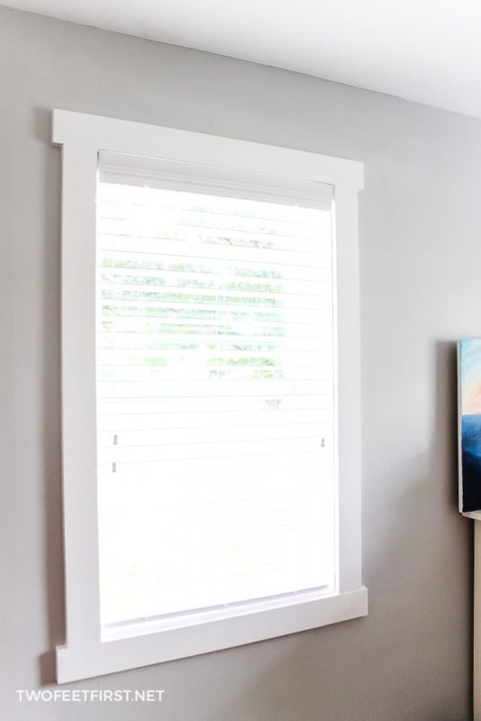 How To Install Window Trim Simple Craftsman
