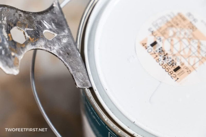 painters tool to open a can of paint