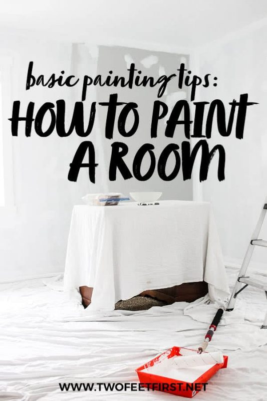 basic painting tips on how to paint a room