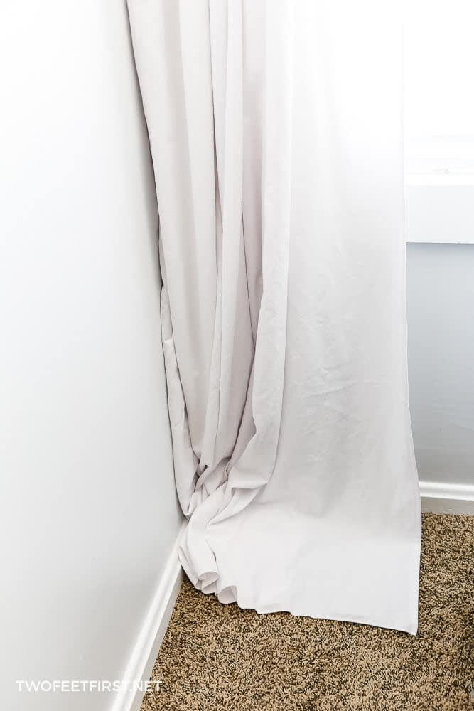 How to sew curtains: Simple tutorial