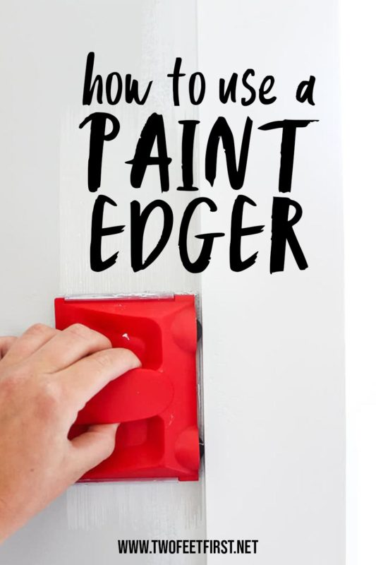 how to use a paint edger