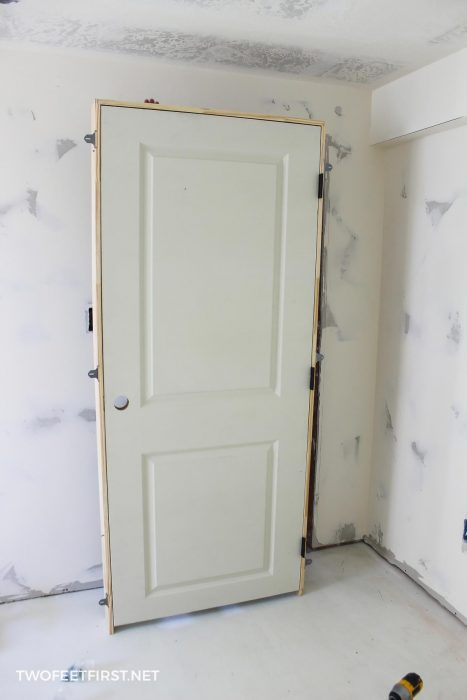 install an interior door