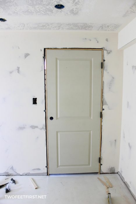 easier way to install an interior door