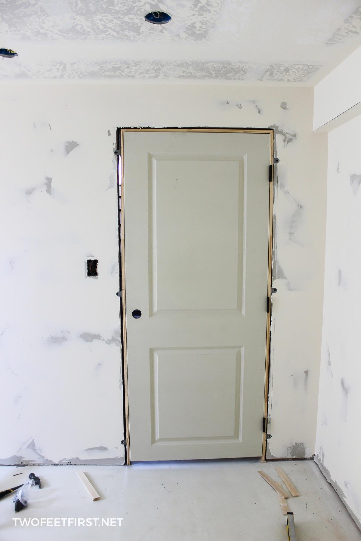 easier way to install an interior door